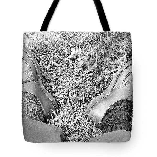 The Shoes Of A Teaching Assistant, 1979 Tote Bag