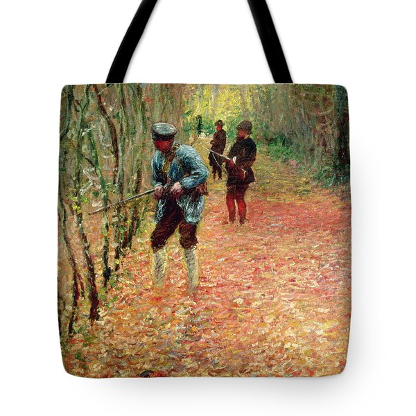 The Shoot Tote Bag by Claude Monet