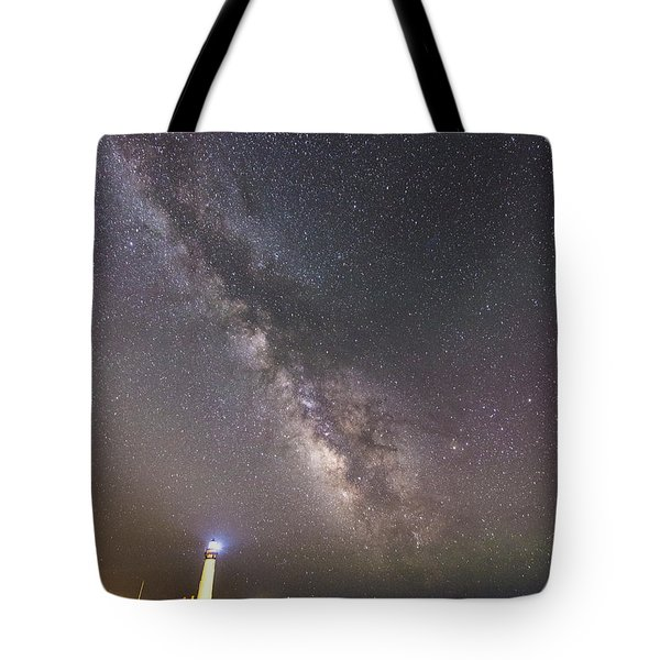 Tote Bag featuring the photograph The Shore Of Night by Alex Lapidus