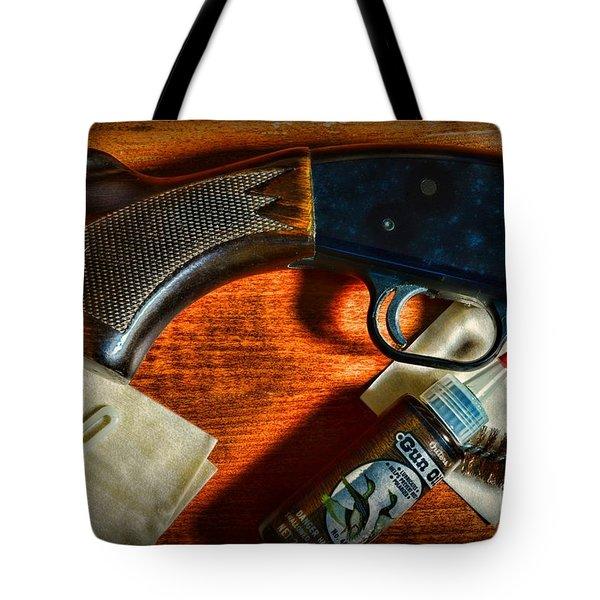 The Shotgun Tote Bag