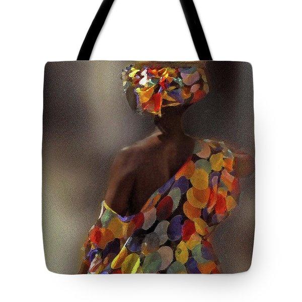 The Shoulder Of Africa Tote Bag
