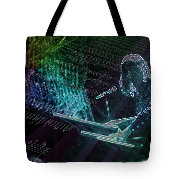 The Show That Never Ends... Tote Bag by Kenneth Armand Johnson