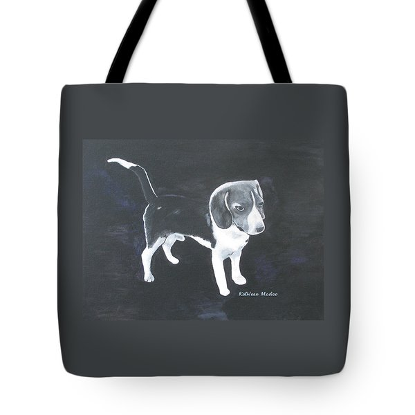 The Shy Beagle Tote Bag