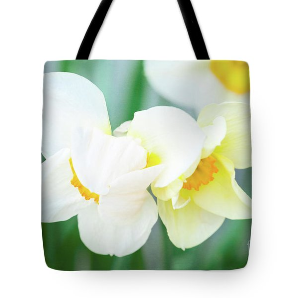 The Shy Couple Tote Bag