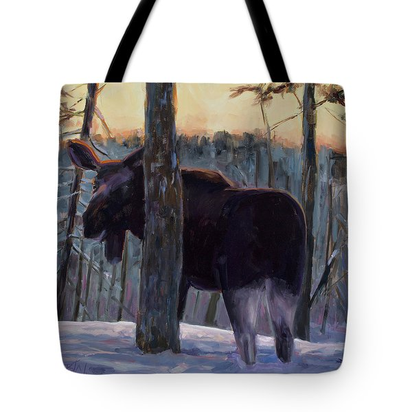 Tote Bag featuring the painting The Shy One by Billie Colson