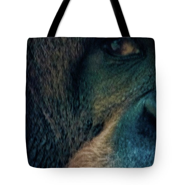 The Shy Orangutan Tote Bag