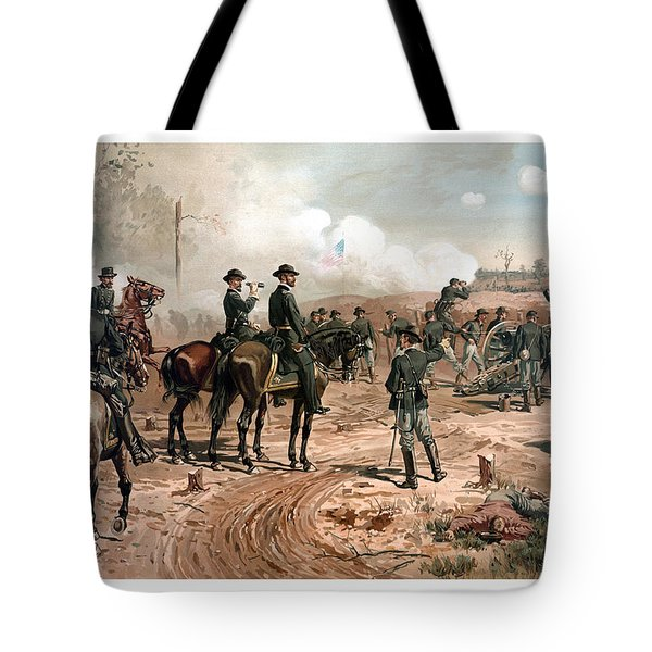 The Siege Of Atlanta Tote Bag