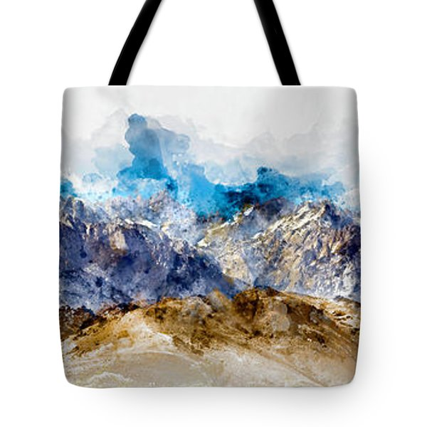 The Sierras Tote Bag