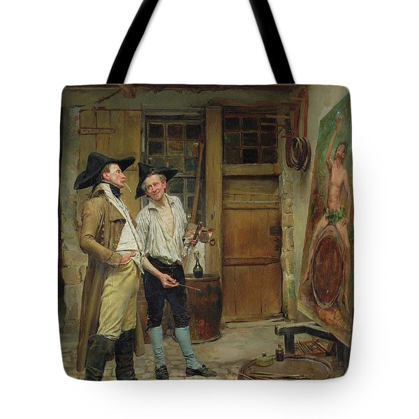 The Sign Painter Tote Bag