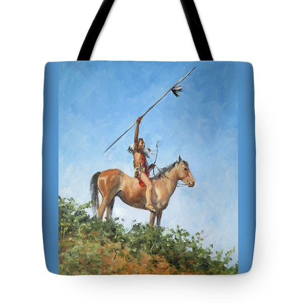 The Signal Tote Bag by Connie Schaertl