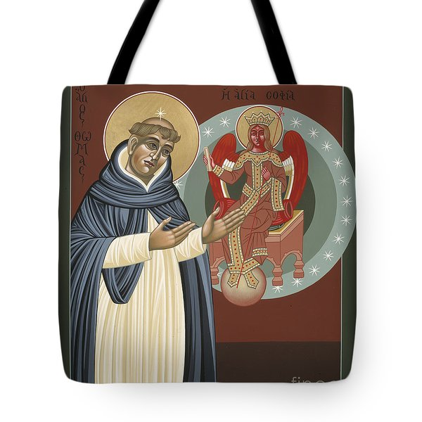 The Silence Of St Thomas Aquinas 097 Tote Bag
