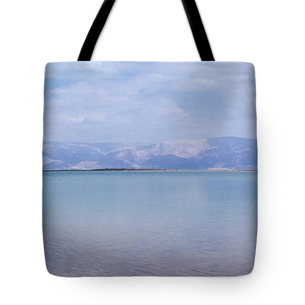The Silence Of The Dead Sea Tote Bag by Yoel Koskas