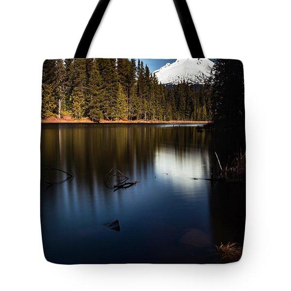 The Silence Of The Lake Tote Bag