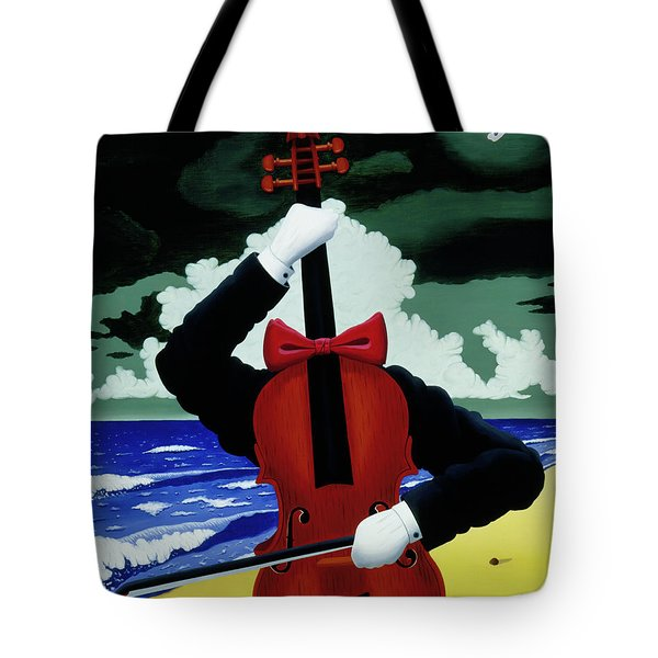 The Silent Soloist Tote Bag