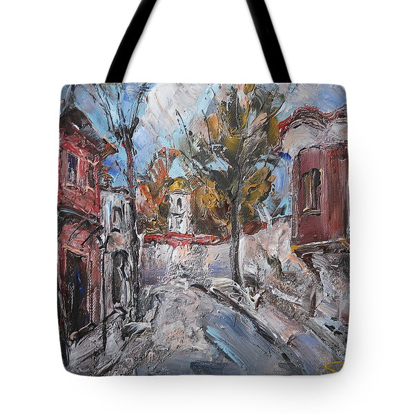 The Silent Street IIi Tote Bag