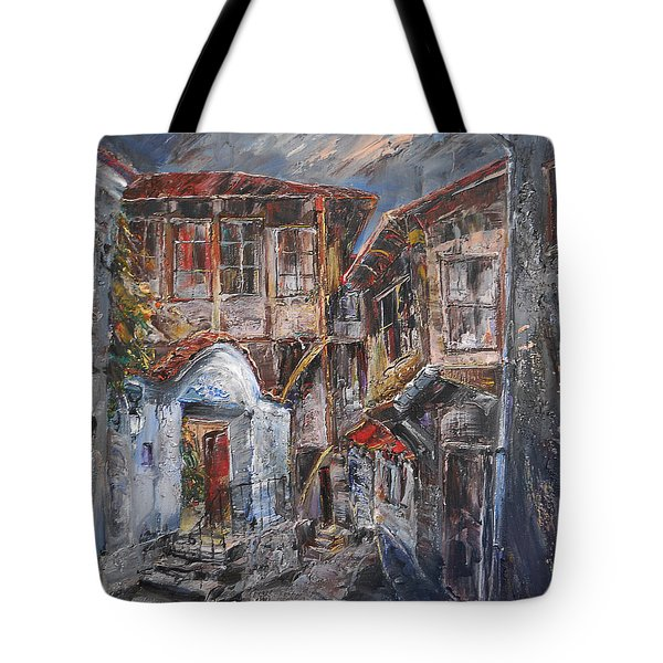 The Silent Street Iv Tote Bag