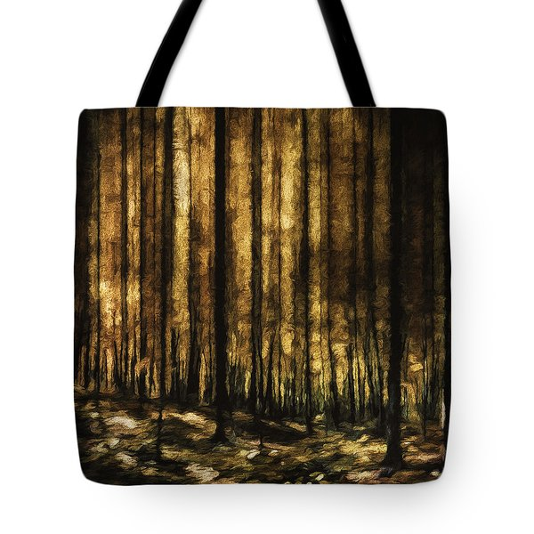The Silent Woods Tote Bag