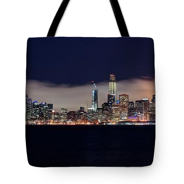 The Silken Fog Tote Bag