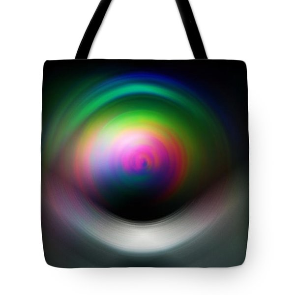 Tote Bag featuring the digital art The Silver Bird In Motion  by Sir Josef - Social Critic - ART