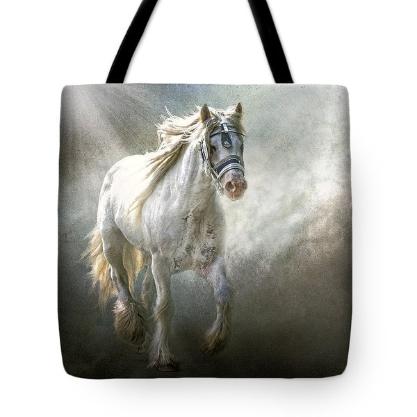Tote Bag featuring the photograph The Silver Cob by Brian Tarr
