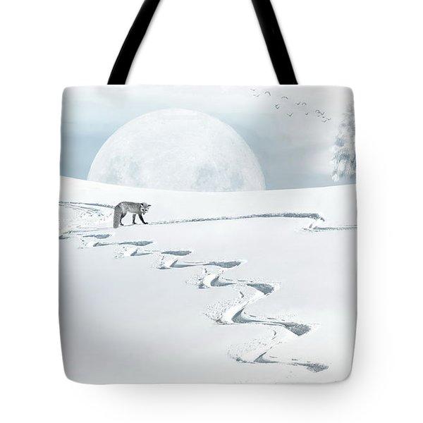 The Silver Fox Tote Bag