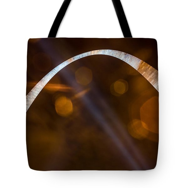 The Silver Gateway Arch Tote Bag