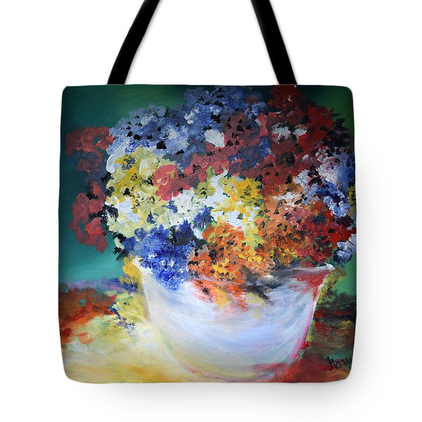 The Silver Pot Tote Bag