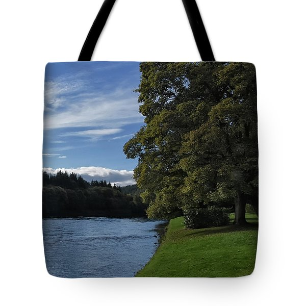 The Silvery Tay By Dunkeld Tote Bag