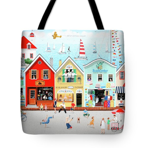 The Singing Bakers Tote Bag by Wilfrido Limvalencia