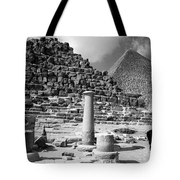 The Single Column Tote Bag