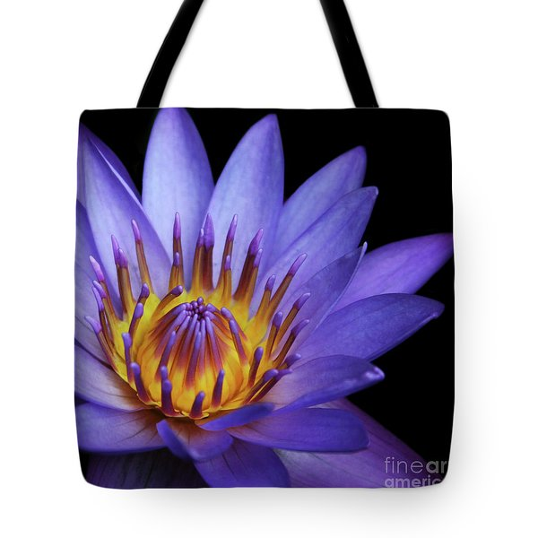 The Singular Embrace Tote Bag by Sharon Mau