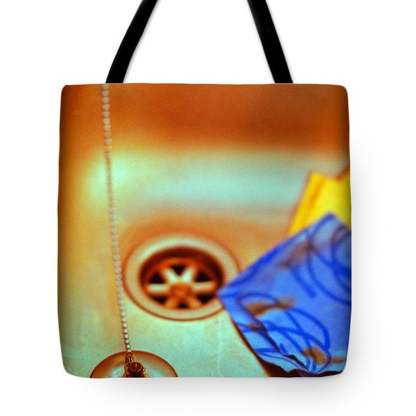 The Sink Tote Bag by Silvia Ganora