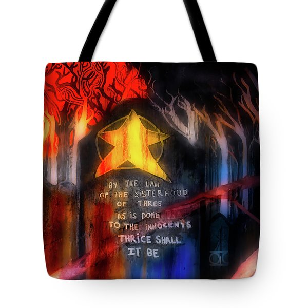Tote Bag featuring the photograph The Sisterhood by Mark Dodd