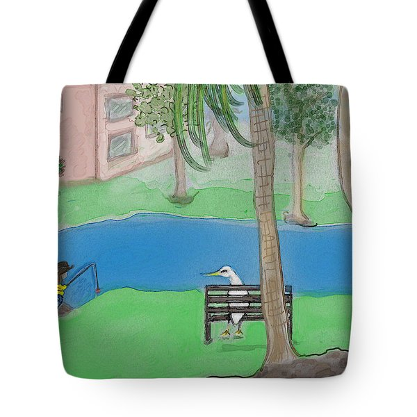 The Sitter Tote Bag