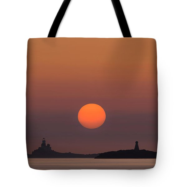 The Skerries Lighthouse  Tote Bag