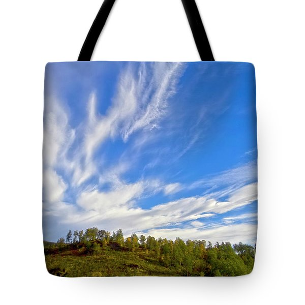 The Skies Tote Bag by Heiko Koehrer-Wagner