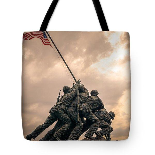 The Skies Over Iwo Jima Tote Bag