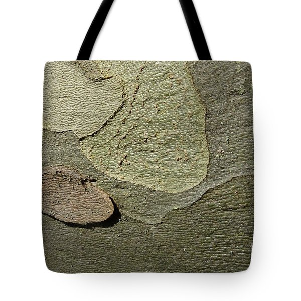 The Skin Of Tree Tote Bag