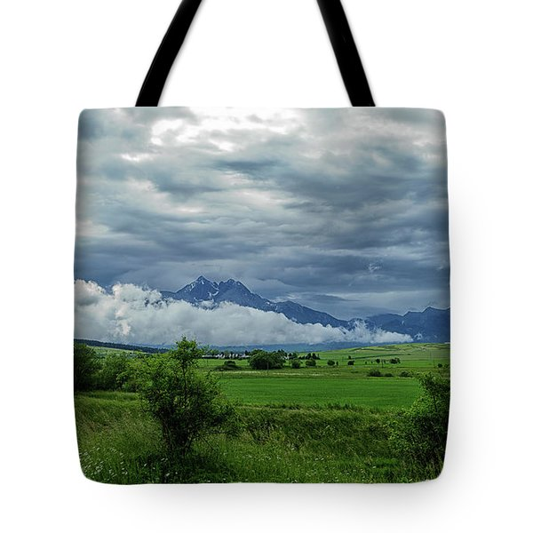 The Sky Has Fallen Tote Bag