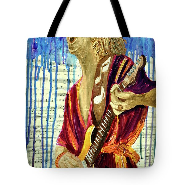 The Sky Is Crying Tote Bag by Michael Lee
