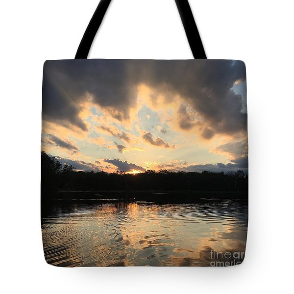 The Sky Is The Limit Tote Bag by Jason Nicholas