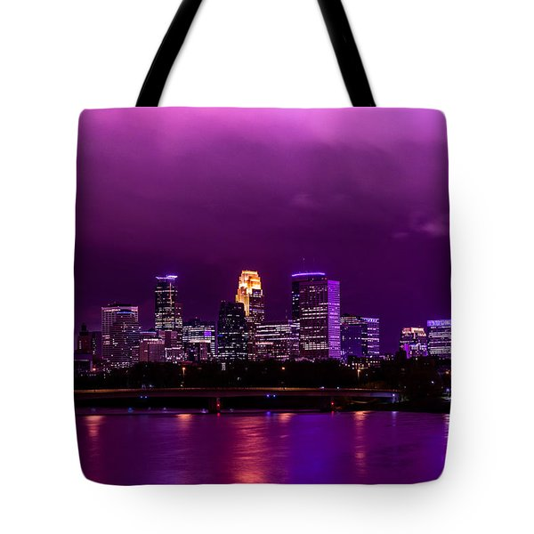 The Sky Was So Purple...  Tote Bag by Mark Goodman