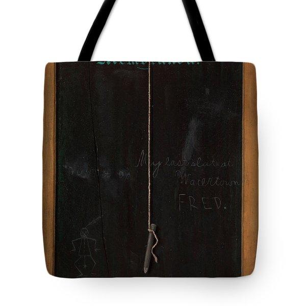 The Slate Memoranda Tote Bag