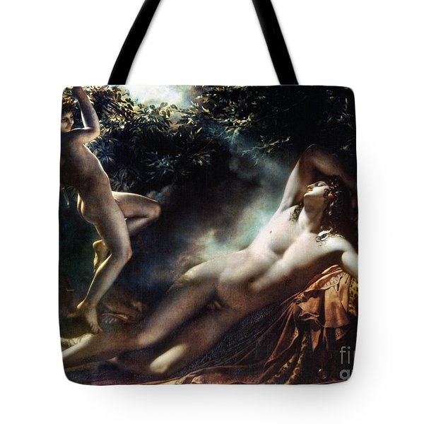 The Sleep Of Endymion Tote Bag by Granger