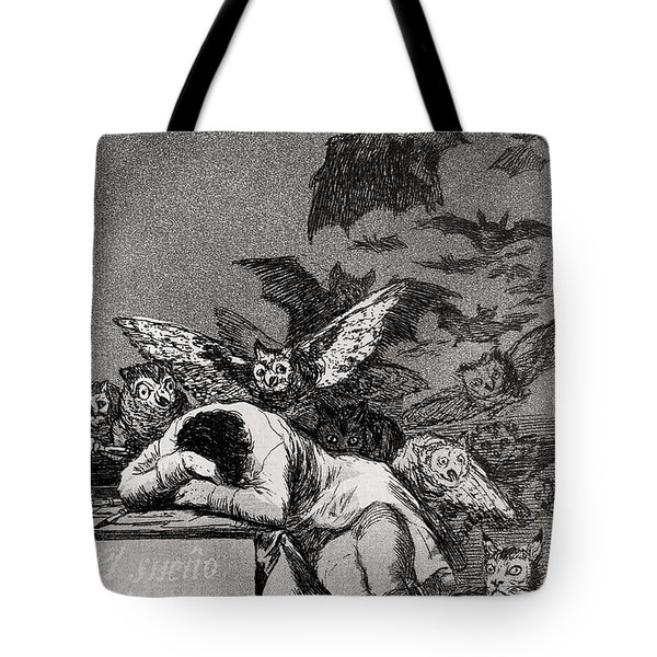 The Sleep Of Reason Produces Monsters Tote Bag
