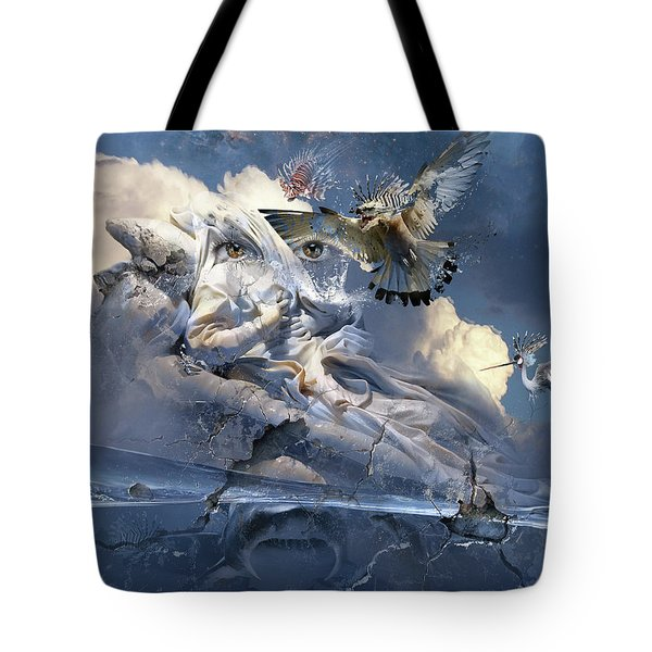 The Sleep Of Reason Produces Monsters Neo-surrealism Tote Bag