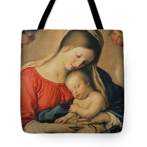 The Sleeping Christ Child Tote Bag by Il Sassoferrato