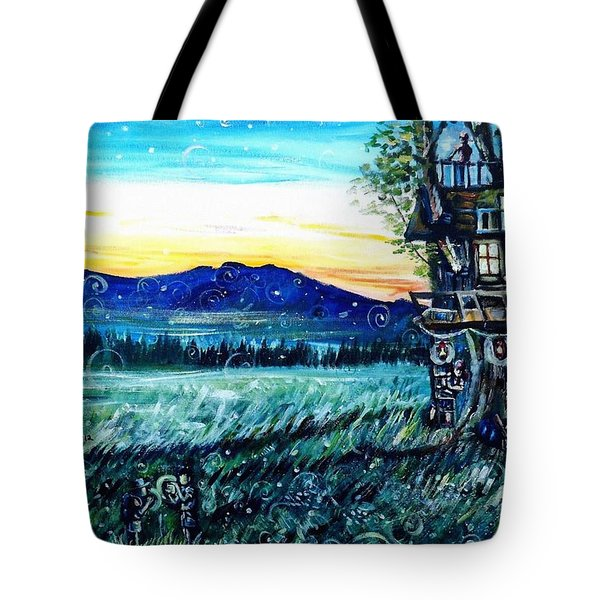 The Sleepover Tote Bag by Shana Rowe Jackson