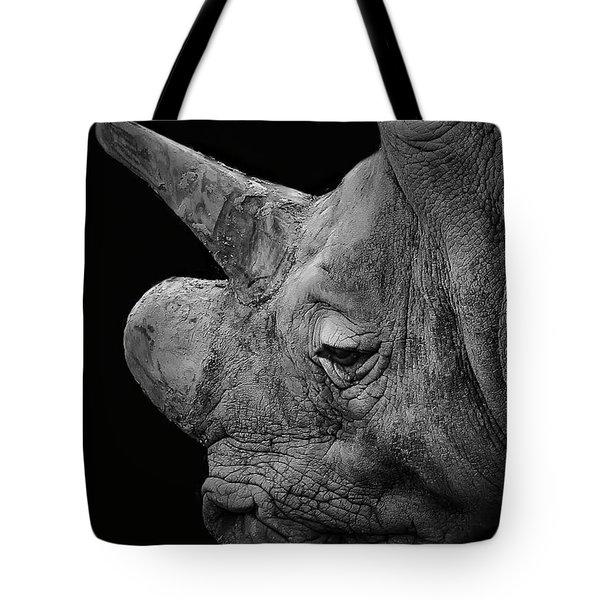 The Sleepy Rhino Tote Bag