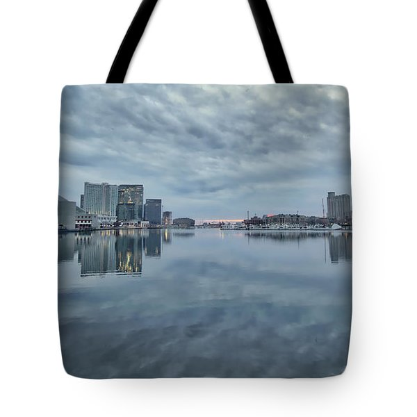 Tote Bag featuring the photograph The Sliver Of Sunrise by Mark Dodd